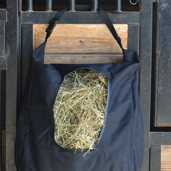 Black Hay Bag