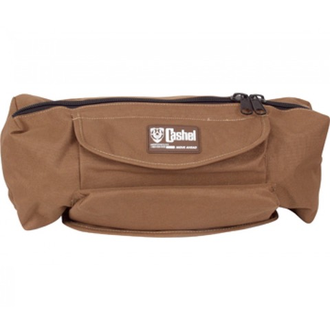 Cashel Deluxe Cantle Bag Brown