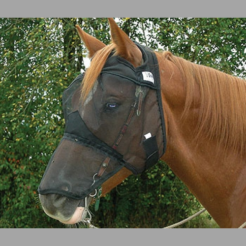 Quiet Ride Fly Mask with Long Nose