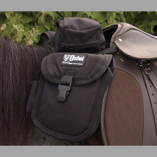 Saddle Bag- English Front Black