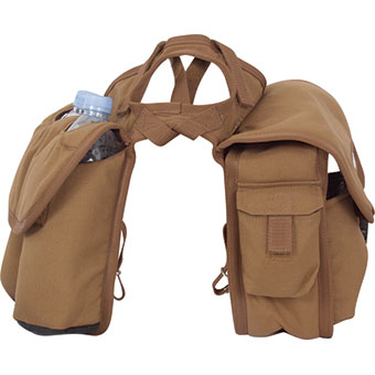 Saddle Bag Medium Rear Brown