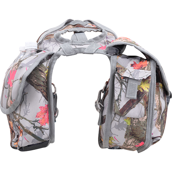 Saddle Bag Medium Rear Hot Leaf Camo