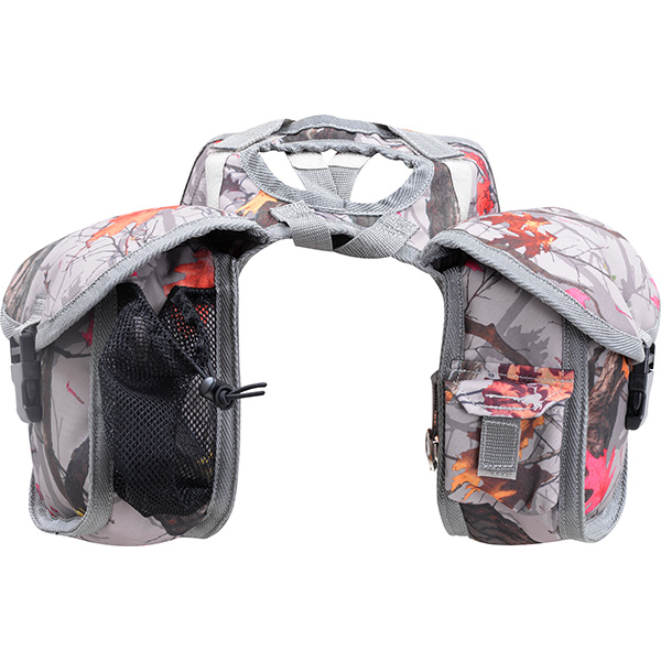 Saddle Bag – Horn Bag – Small Hot Leaf Camo