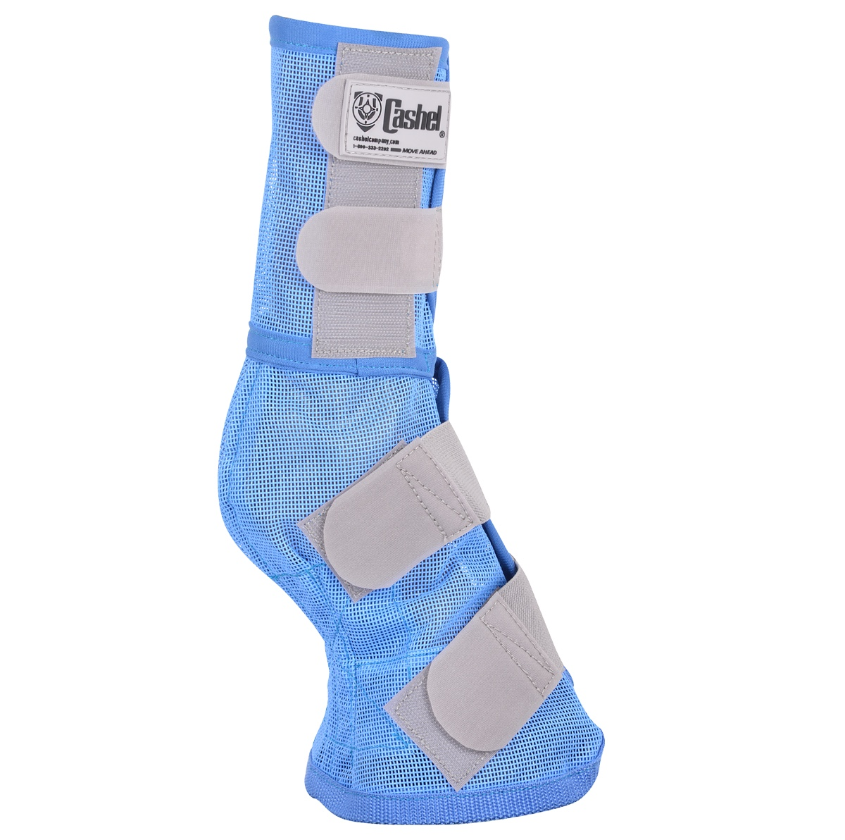 Crusader Leg Guards Blue