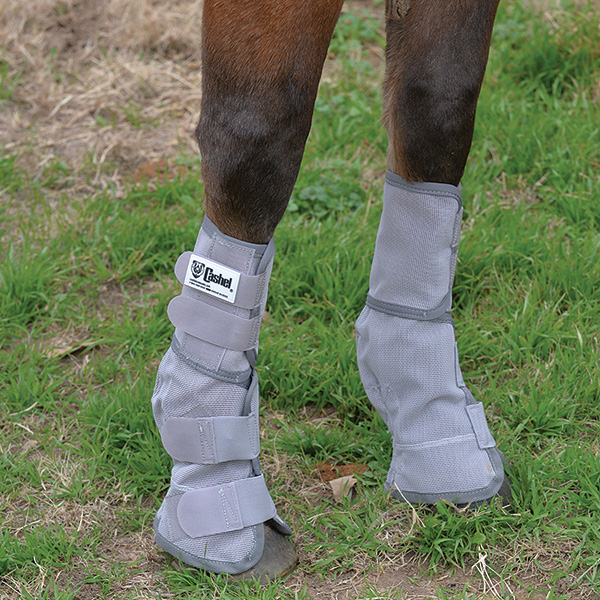 Crusader Leg Guards Gray