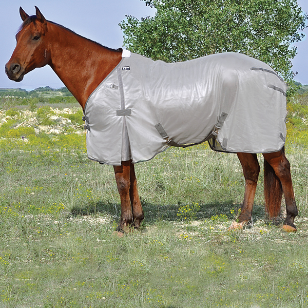 Light Gray Lightweight Fly Rug / Sheet